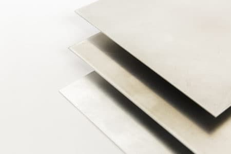 Chapa aluminio material